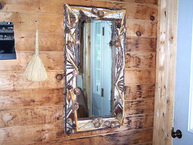 Adirondack Rustic Accessory Rustic Mirrors Frames Birch Frames BIrch ...
