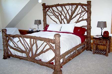 Log Bed Frames