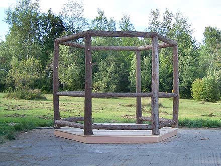 Rustic Adirondack Style Twig and Birch Furniture